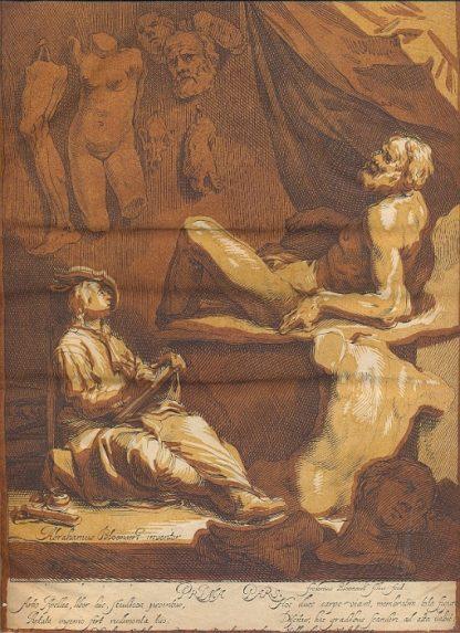 Incisioni del Maestro Olandese Bloemaert Abraham, Dordrecht 1564 - Utrecht 1651.