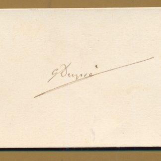 Autografo.