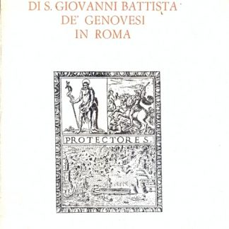 La confraternita di S.Giovanni Battista De Genovesi in Roma (Inventario dell'archivio).