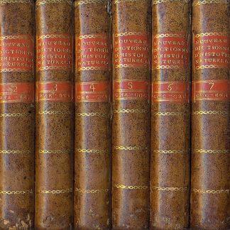 Nouveau Dictionnaire d'histoire naturelle, appliquee aux arts, principalement à l'agriculture et à l'economie rurale et domestique. Par une societe de naturalistes et d'agriculteurs: avec des figures tirees des trois regnes de la nature.