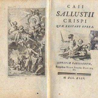 Caii Sallustii Crispi, quae exstant opera.