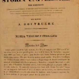 Atlante cronologico sincronico di storia universale che contiene la cronologia degli avvenimenti più importanti della storia in generale, le istituzioni, stabilimenti principali....
