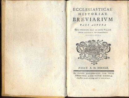 Ecclesiasticae historiae breviarium.