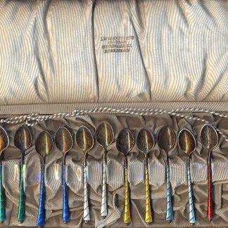Set di cucchiaini danesi.