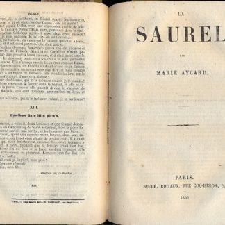 Adele de Senange - Pour ne pas etre treize - Danae - La Saurel - Le Louis d'Or.