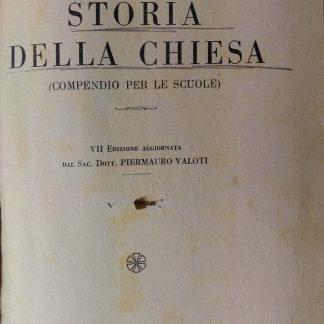 Storia della Chiesa (compendio per le scuole).