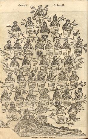 Annales oder Historiche Chronick der Durchleuchtigisten Fursten und Herren, Ertzhertzogen zu Oesterreich, Habspurgischen Stammes, von Rudolpho 1 biss auff Carolum V.