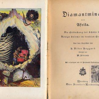 Diamantminen von Afrika. Die entdeckung der schatze des konigs Salomo im dunklen Erdteil.