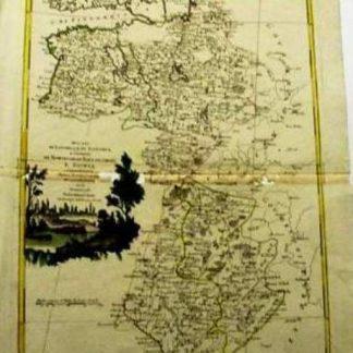 Carta geografica dei Ducati di Livonia e di Estonia, e Governi di Nowogorod, Bielogorod e Kowia.