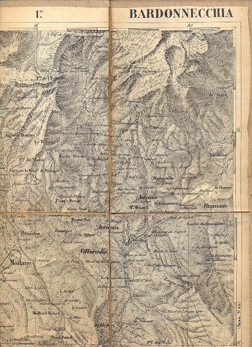 Bardonecchia Cartina Geografica.Carta Geografica Di Bardonecchia Libreria Cicerone