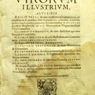 Vitae Virorum Illustrium.