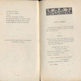 Giuliano l'apostata dramma in cinque atti e in versi.