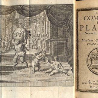 Les comedies. Nouvelle Traduction par Mons. Gueudeville. Divisées en dix tomes.