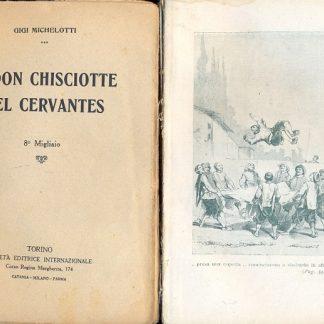 Il Don Chisciotte del Cervantes.