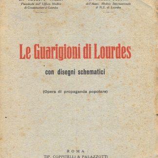 Le Guarigioni di Lourdes con disegni schematici.