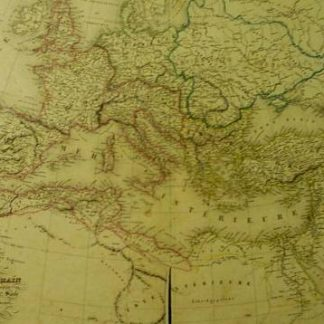 L'Empire Romain depuis Constantin jusq'à la fin du 4° Siecle (Atlas de Géographie ancienne et moderne adopté pour le Bibliotheques Militaures).