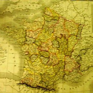 France par provinces (Atlas de Géographie ancienne et moderne adopté pour le Bibliotheques Militaures).