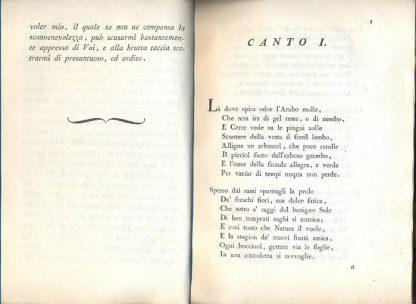 Il caffè. Canti due. Componimento poetico diretto agli Cellentissimi Sposi il Signor Conte Don Luigi Onesti e la Signora D. Costanza Falconieri.