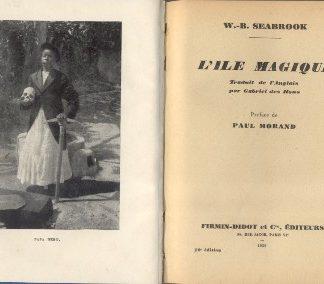 L'ile magique. Preface de Paul Morand.