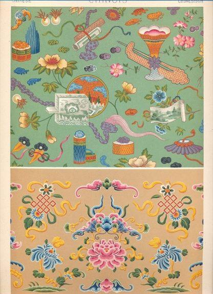 L'ornement polychrome. Cent planches en couleurs or et argent contenant environ 2,000 motifs de tous les styles art Ancien et Asiatique - Moyen Age - Renaissance, XVII et XVIII siecles.
