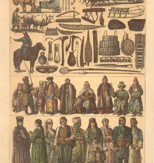 Epoca moderna, Tartari n. 112 ( Siberiani, Tartari, Turcomanni ).