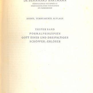 Lehrbuch der dogmatik.