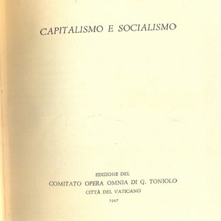 Capitalismo e socialismo.
