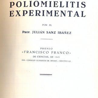 Poliomielitis experimental.