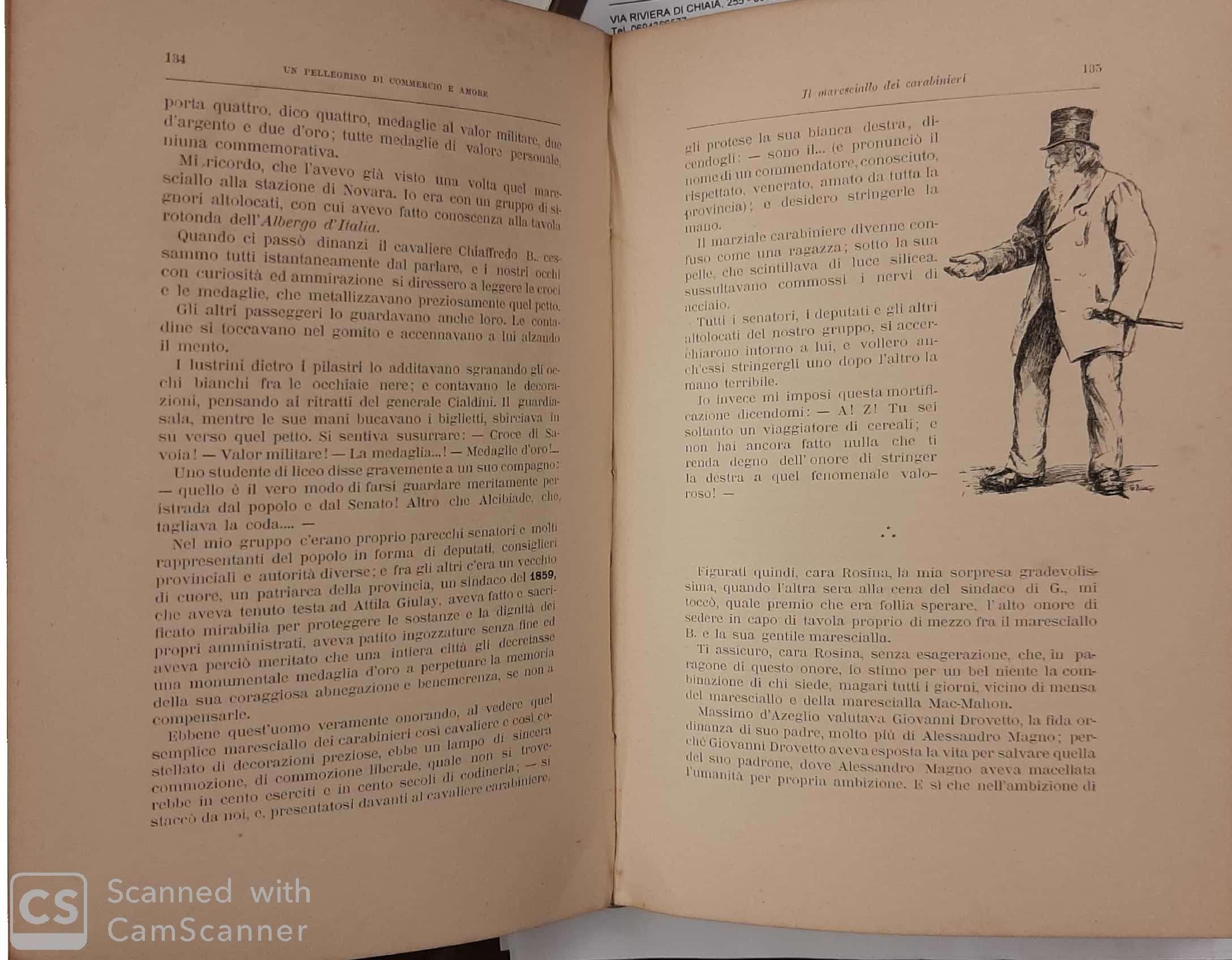 Decorazioni Lettere D Amore verbanine. lettere di apostolo zero, pellegrino di commercio e amore.  illustrate da g. ricci.