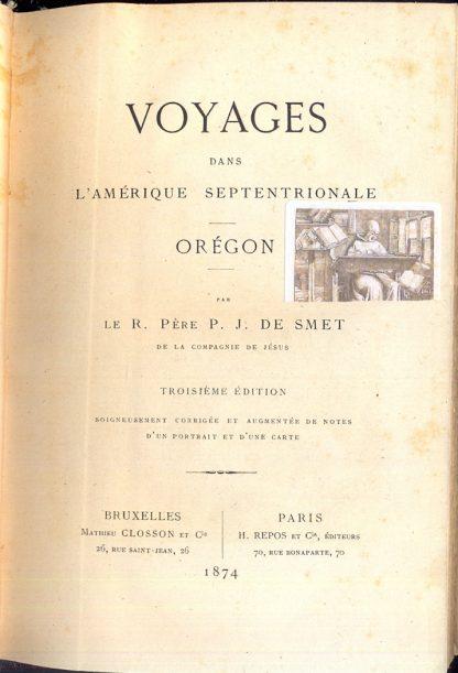 Voyages dans l'Amerique Septentrionale - Oregon.