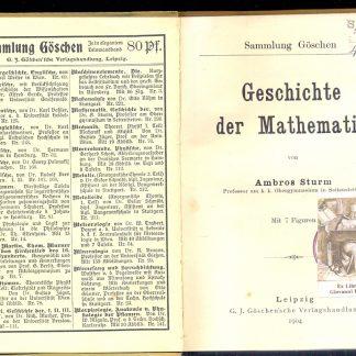 Geschichte der mathematik.