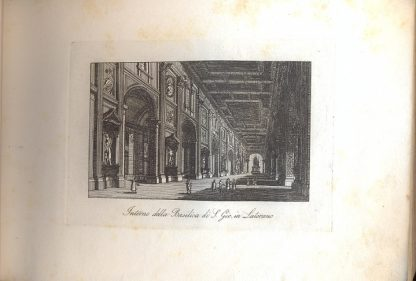 Num. cento vedute di Roma e sue vicinanze. Presso Tommaso Cuccioni, negoziante di stampe in Roma, Via della Croce n. 25.