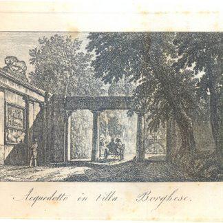 Acquedotto in Villa Borghese.