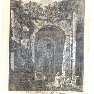 Parte dell'interno del Colosseo.