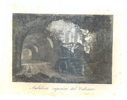 Ambulacro superiore del Colosseo.