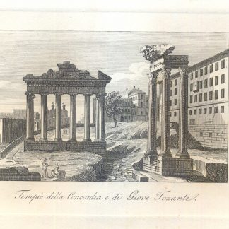 Tempio della Concordia e di Giove Tonante.