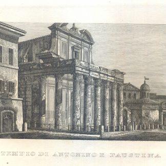 Tempio di Antonino e Faustina.