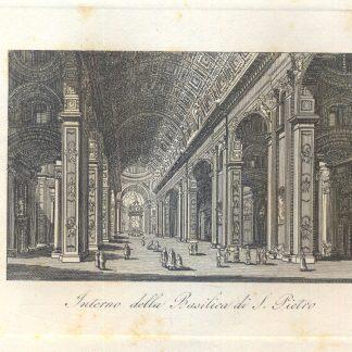 Interno della Basilica di San Pietro.