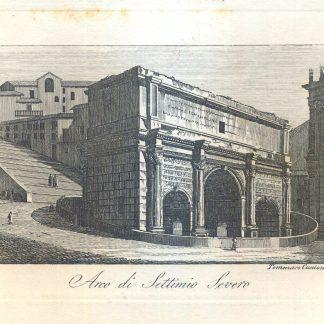 Arco di Settimio Severo.