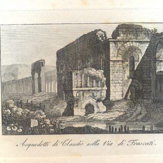 Acquedotti di Claudio sulla Via di Frascati.