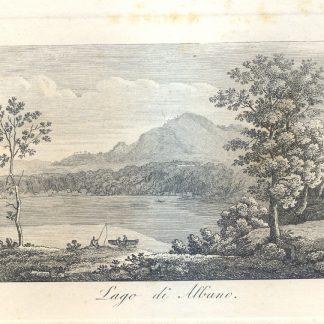 Lago di Albano.