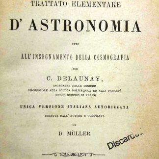 Trattato elementare d'astronomia atto all'insgnamento della cosmografia