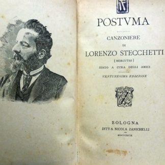 Postuma Canzoniere 21 edizione