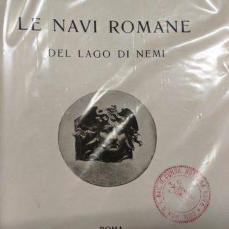 Le navi romane del lago di Nemi.