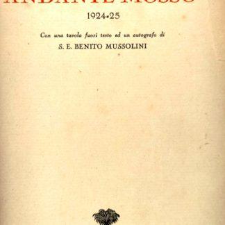 Andante mosso 1924 - 25.