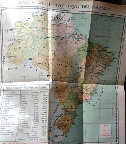 IL BRASILE SUE RICCHEZZE NATURALI, SUE INDUSTRIE ( VOL. I ) ESTRATTO DALL'OPERA O BRASIL, SUAS RIQUEZAS NATURAES, SUAS INDUSTRIAS