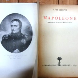 Napoleone.Traduzione di Lavinia Mazzucchetti.