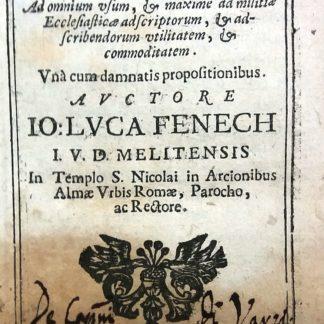 Casuum moralium. Ex selectis Doctoribus decerpti Flores: Ad omnium usum, & maxime ad militiae Ecclesiasticae...