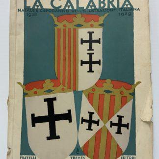 LA CALABRIA natale e capodanno dell' illustrazione italiana
