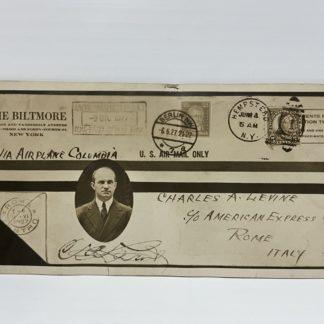 L'Attraversata dell'Atlantico del Miliardario Charle A. Levine nel 1927